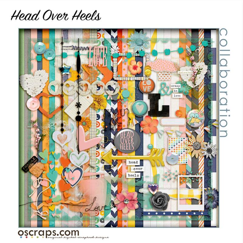 Head Over Heels :: An Oscraps 2015 Collaboration