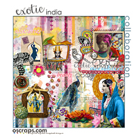 exOtic india :: An Oscraps 2014 Collaboration
