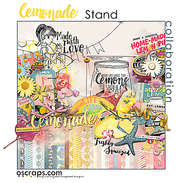 lemOnade stand :: An Oscraps 2015 Collaboration