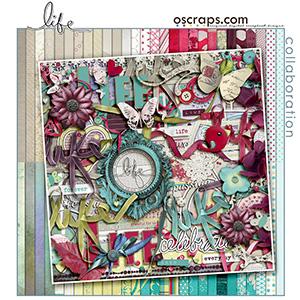 Life :: Oscraps Collaborative Kit