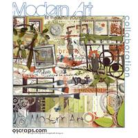 mOdern Art :: Oscraps Collaborative Kit