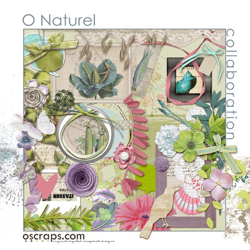 O Naturel :: An Oscraps 2015 Collaboration