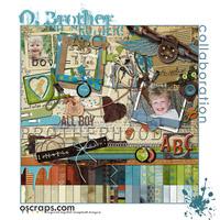 O, Brother! :: Oscraps Collab