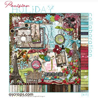 Parisian Holiday :: Oscraps Collab {full kit}