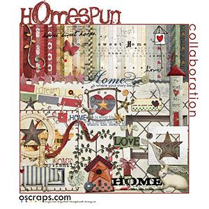 hOmespun :: Oscraps Collaborative Kit