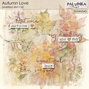 Autumn Love Overlays and WA