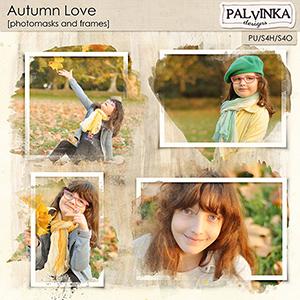 Autumn Love Photomasks and Frames