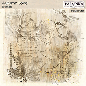 Autumn Love Stamps