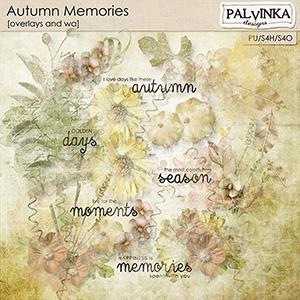 Autumn Memories Overlays and WA