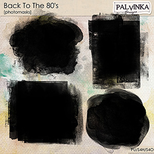 Back To The 80´s Photomasks