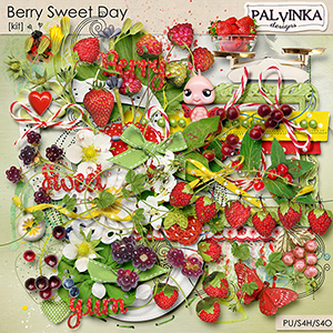 Berry Sweet Day Kit and Alpha