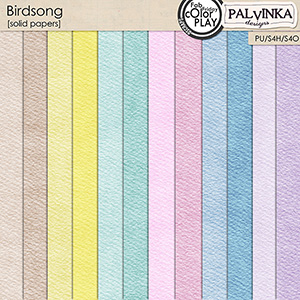 Birdsong Solid Papers