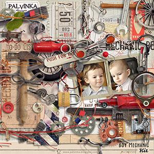 Boy Mechanic Kit