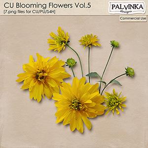 CU Blooming Flowers Vol.5