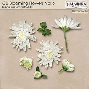 CU Blooming Flowers Vol.6