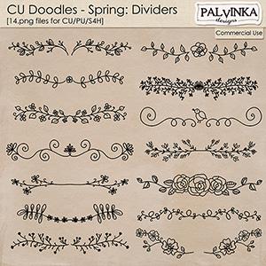 CU Doodles - Springs Dividers