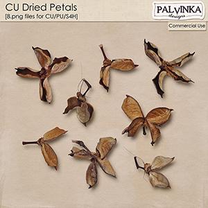 CU Dried Petals