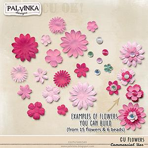 CU Flowers