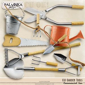 CU Garden Tools