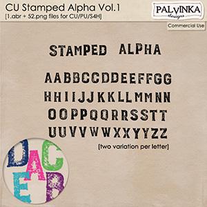 CU Stamped Alpha 1