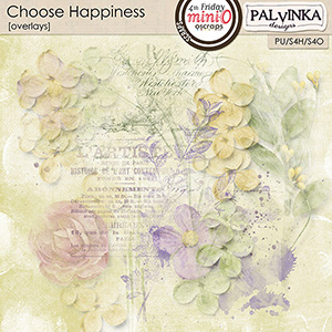 Choose Happiness Overlays
