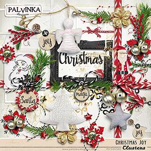 Christmas Joy Clusters