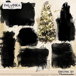 Christmas Joy Photomasks