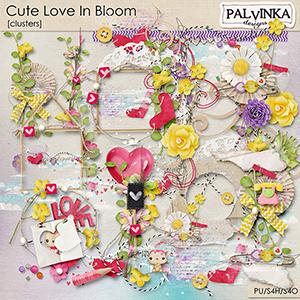 Cute Love In Bloom Clusters