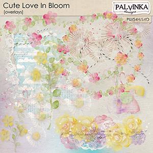 Cute Love In Bloom Overlays