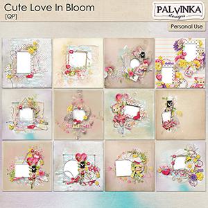 Cute Love in Bloom QP