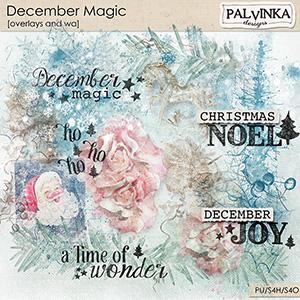 December Magic Overlays and WA