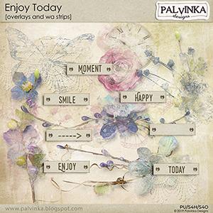 Enjoy Today Overlays and WA strips