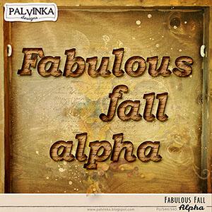 Fabulous Fall Alpha