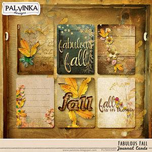 Fabulous Fall Journal Cards