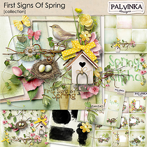 First Signs Of Spring Collection
