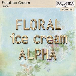 Floral Ice Cream Alpha
