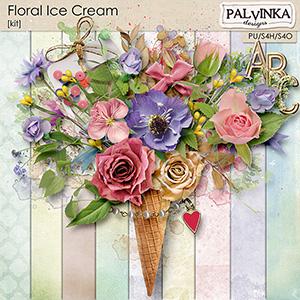 Floral Ice Cream Kit