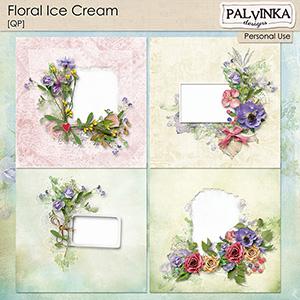 Floral Ice Cream QP