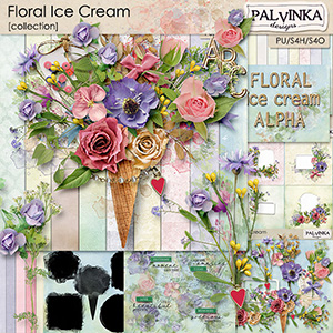 Floral Ice Cream Collection