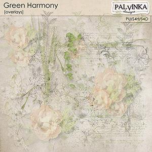 Green Harmony Overlays