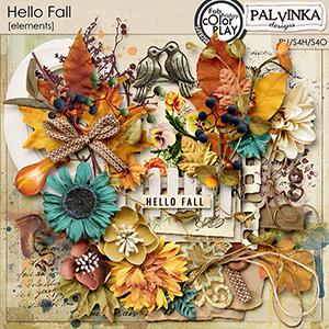 Hello Fall Elements