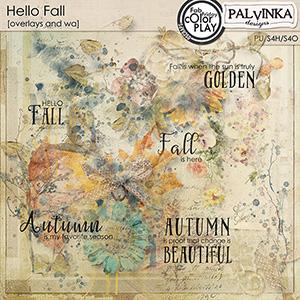 Hello Fall Overlays and WA