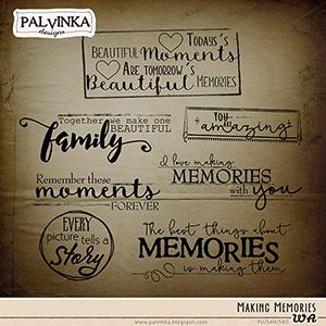 Making Memories WA