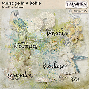 Message In A Bottle Overlays and WA