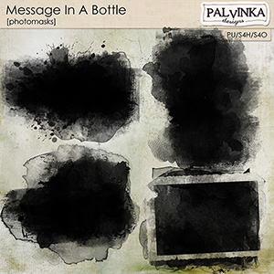 Message In A Bottle Photomasks