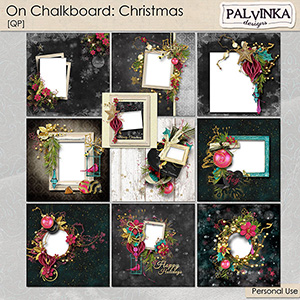 On Chalkboard: Christmas QP
