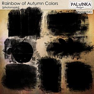 Rainbow of Autumn Colors Photomasks