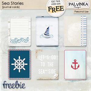 Sea Stories - Journal Cards - FREEBIE