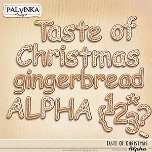 Taste Of Christmas Gingerbread Alpha