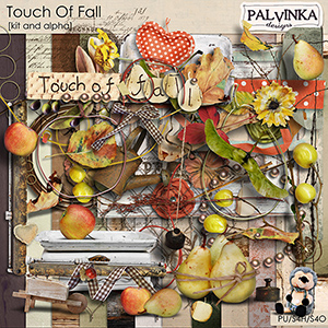 Touch Of Fall Kit and Alpha